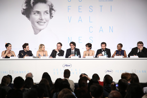 Irmãos Coen e o Júri Oficial - Festival de Cannes 2015 - Foto de Théophile Delange