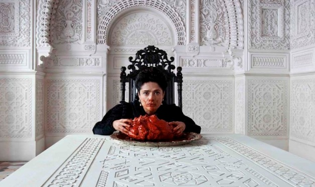 O banquete de Salma Hayek em Tale of the Tales