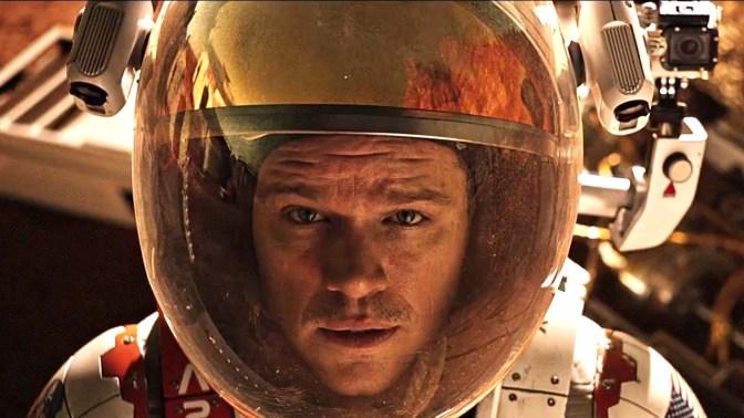 Bilheterias americanas: Perdido em Marte estreia nas alturas e quase bate recorde